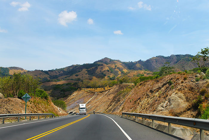 The road to Jaco