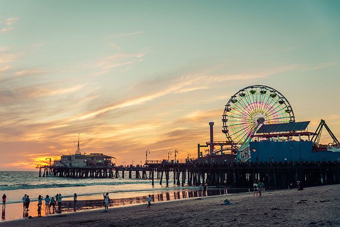 Santa Monica Pier, Los Angeles, California