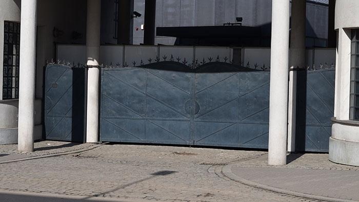 Schindler's Factory gate, Krakow
