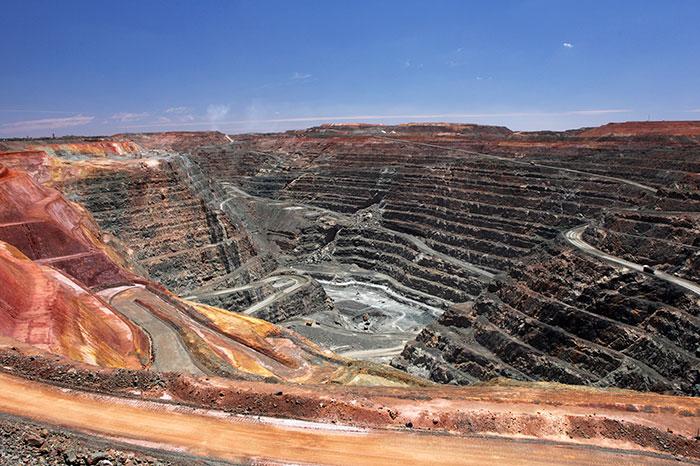 Super Pit Gold Mine at Kalgoorlie-Boulder