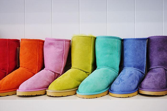 Sheepskin boots in Australia