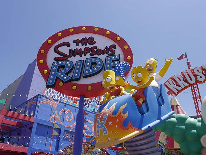 Simpsons Ride, Universal Studios Hollywood