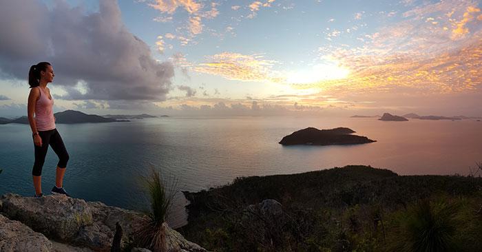 Sunrise from Passage Peak