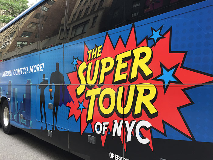 Super Tour of NYC bus