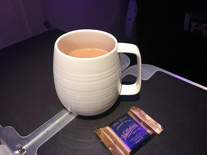 Tea (in a real mug!)