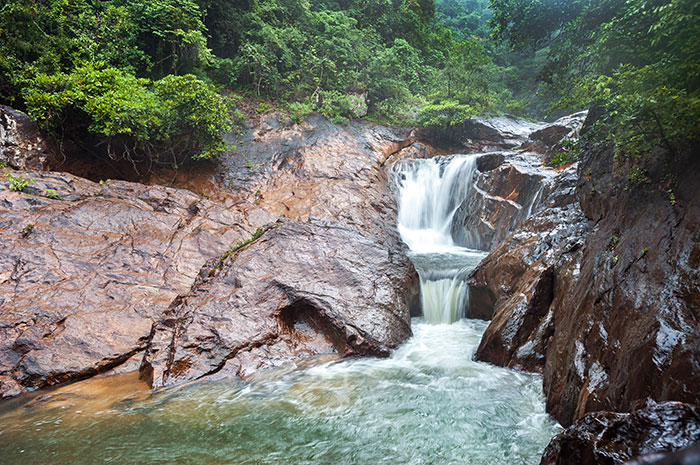 Than Mayom Waterfall, Koh Chang, Thailand