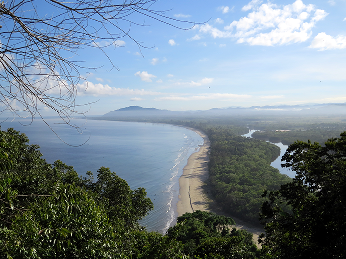 View from the Rasa Ria Reserve