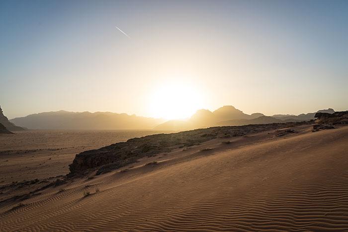Wadi Rum sundowner, Ross Jennings