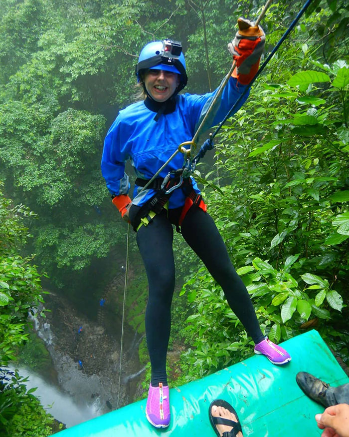 Alex waterfall rappelling, Arenal, Costa Rica