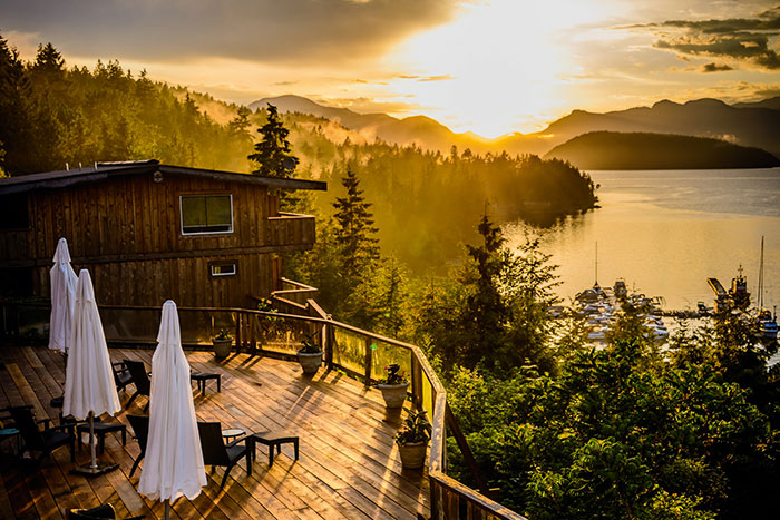 West Coast Wilderness Lodge, Canada