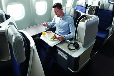 A330 new Business Class seats