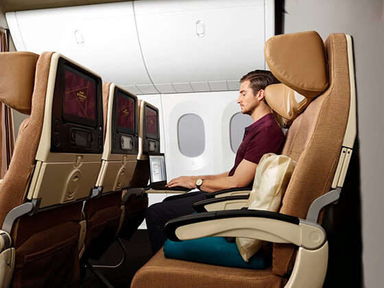 Economy Class Smart Seat