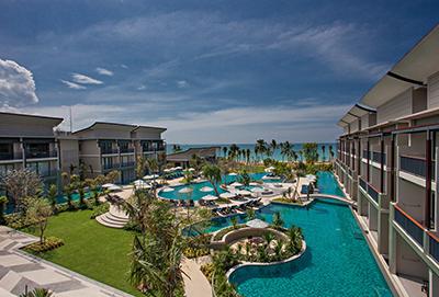Bangsak Merlin Resort pool, Khao Lak, Thailand