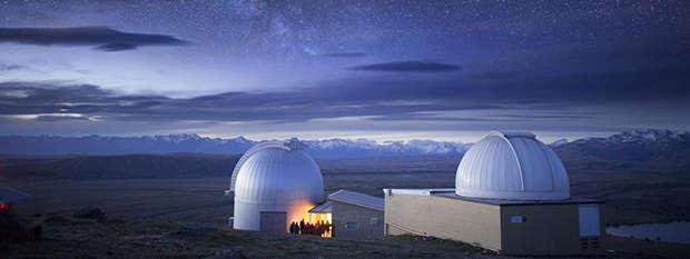 Stargazing Mount Cook