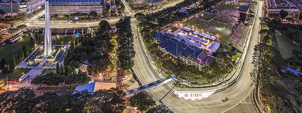Singapore Grand Prix track