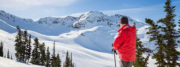 Snowy Whistler, Canada