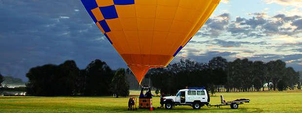 Hot-air balloon Hunter Valley