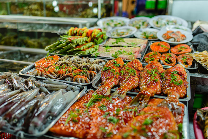 Seafood in Phu Quoc Island