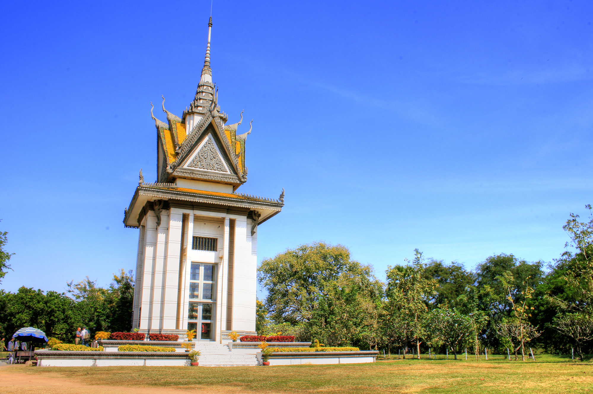 Commemorative Stupa at the Killing Fields