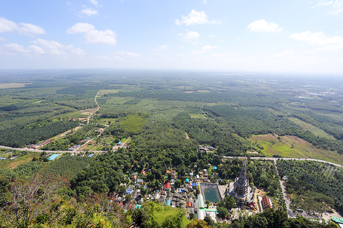 View from Tiger Cave Temple in Krabi Town