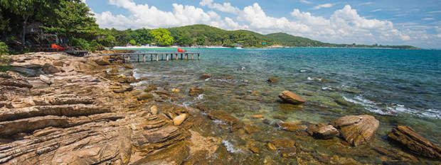 Western coast of Koh Samit Island