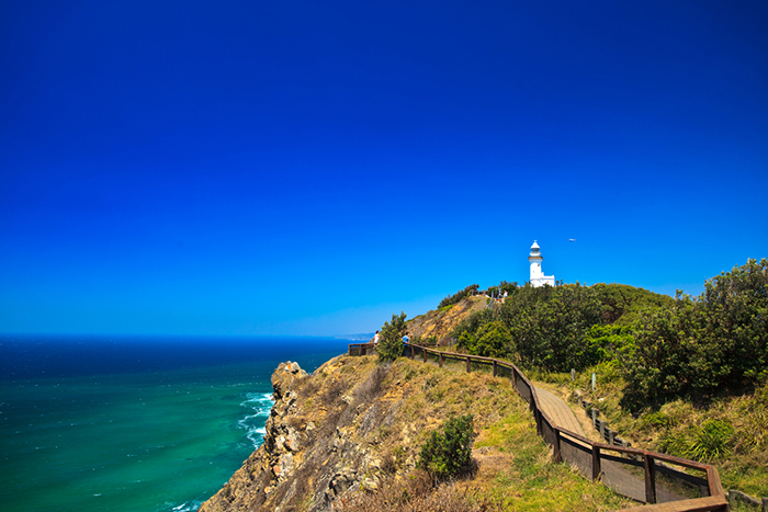The Cape Byron Lighthouse in Byron Bay