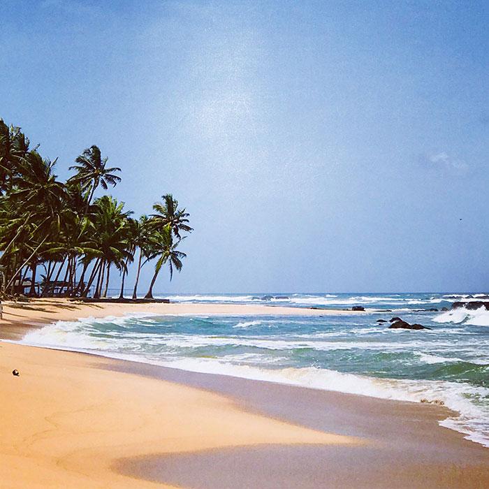 Sri Lanka Mirissa Beach Nikki Soddy.