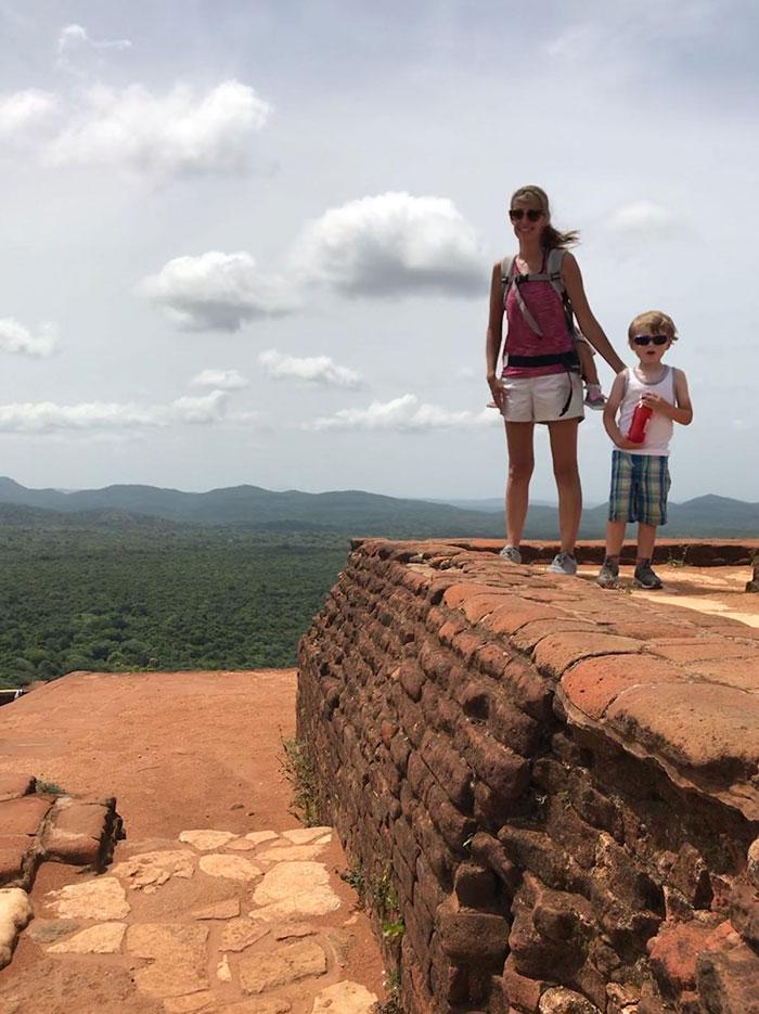 Sri Lanka top of Lion Rock Nikki Soddy