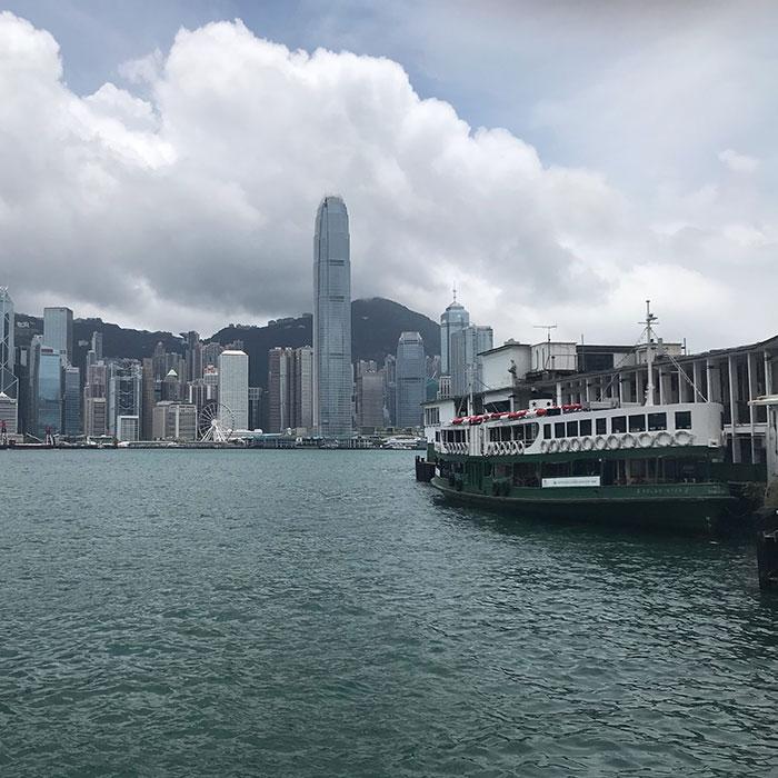 Star Ferry Hong Kong Lizzie Lacey-Brennan