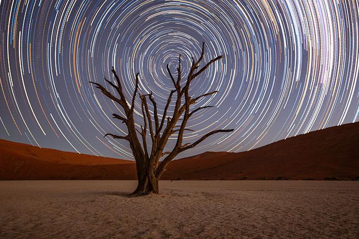 Stars over Deadvlei, Namibia