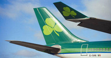The Aer Lingus shamrock
