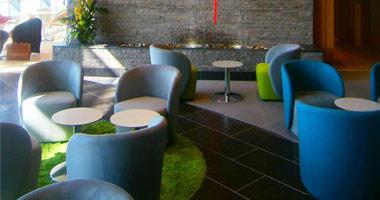 The Aer Lingus lounge