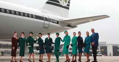 Friendly staff at Aer Lingus
