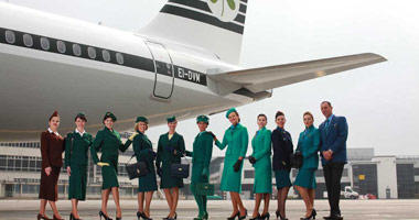 Friendly staff at Aer Lingus