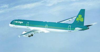 Aer Lingus in the sky