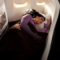 Business Class with Air New Zealand
