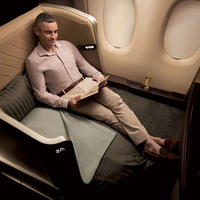 First Class with Singapore Airlines