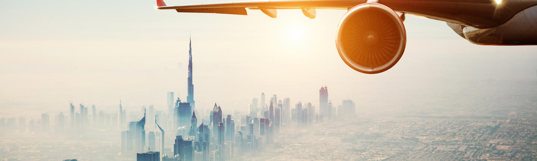 Flying to Dubai