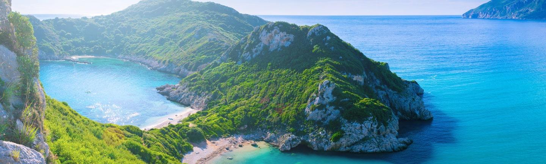 Agios Stefanos Cape, Afionas, Corfu, Greece