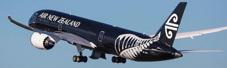 Air New Zealand aircraft