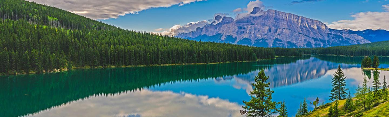 Lake in Alberta, Canada