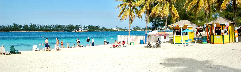 A beach in the Bahamas