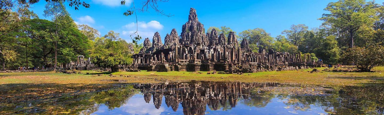 Angkor Wat in Cambodia