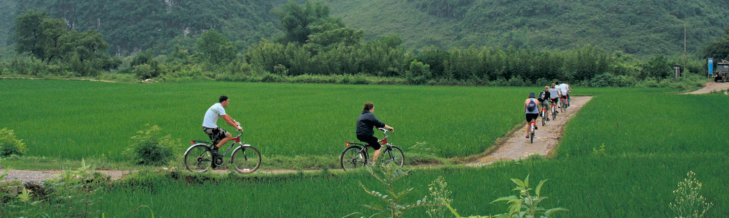 A bicycle tour of China