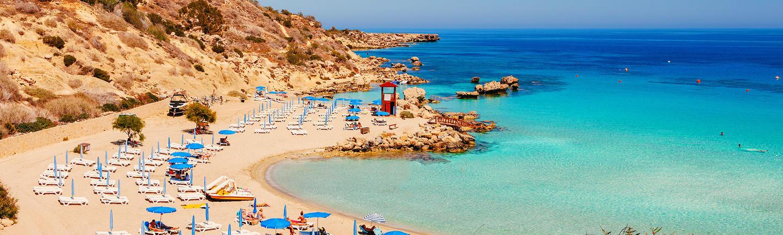A beach in Cyprus