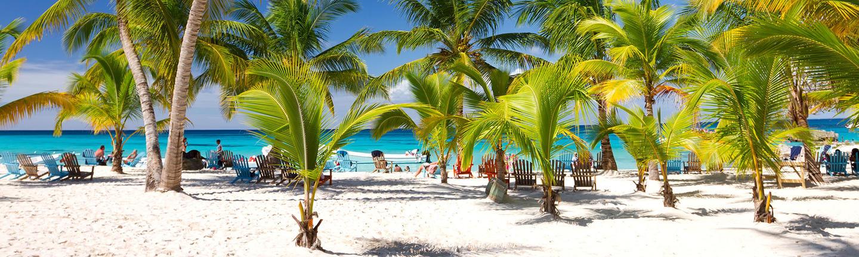 A beach in the Dominican Republic