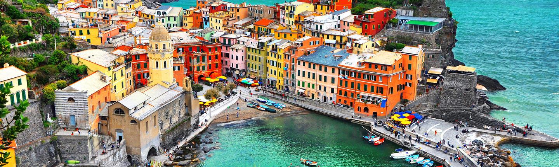 Cinque Terre in Italy