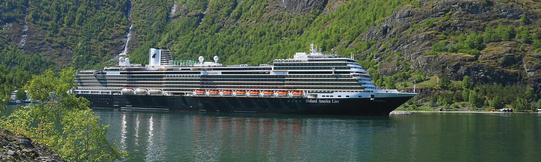 A Holland America cruise ship