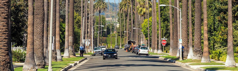 Road in Los Angeles, California