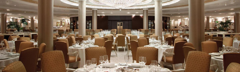 Inside Oceania's Grand Dining Room